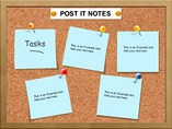 Post It Note Template PowerPoint