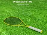 Tennis powerpoint template