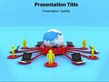 Communication Concept powerpoint template