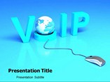 Voice Over Ip powerpoint template