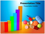 Post Acquisitions Progress in Pharmaceutical Company Templates For Powerpoint