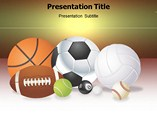 Sports Mania Powerpoint Template