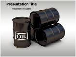 Petroleum OIL PowerPoint Template