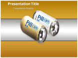 Pill Camera powerpoint template