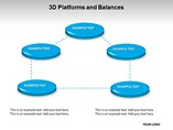 3D Platforms and Balances Templates For Powerpoint