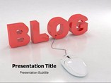 Blog powerpoint template