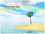 Rainbow Template PowerPoint