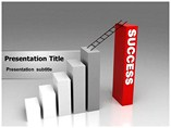 Success Ladder PowerPoint Background