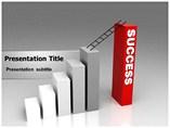 Success Ladder PowerPoint Background