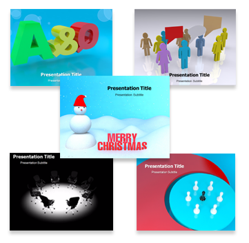 3D Animated Template Bundle Templates For Powerpoint