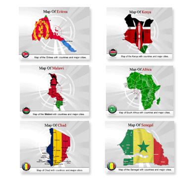 Bundle Of Africa Templates For Powerpoint