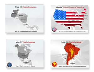 Bundle Of America Powerpoint Template