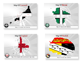 Bundle of England Templates for Powerpoint