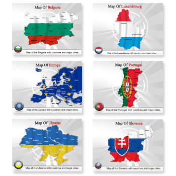 Bundle of Europe Templates For Powerpoint