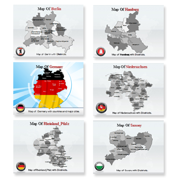 Bundle of Germany Templates For Powerpoint