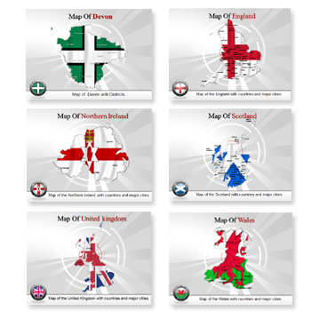 Bundle of United Kingdom Templates for Powerpoint