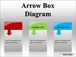 Arrow Box Diagram Templates for Powerpoint