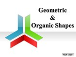 Geometric Organic Shapes Templates for Powerpoint