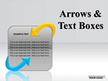 Arrows and Text Boxes PowerPoint Template