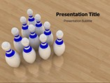 Bowling Style Templates For Powerpoint