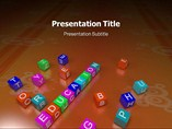 Elementary Education powerpoint template Theme