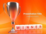 Winner Quotes PowerPoint Template