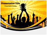 Success Illustration PowerPoint Template