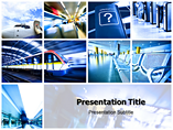 High Tech in Transport  Templates For Powerpoint