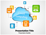 Cloud Computing Images Templates For Powerpoint