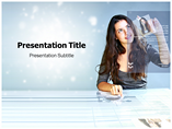 Hi Tech Business Templates For Powerpoint
