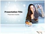 Hi Tech Business PowerPoint Template
