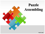 Puzzle Assembling PowerPoint Template