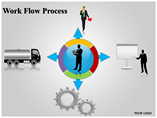 Work Flow Process PowerPoint Template