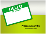 Hello Templates For Powerpoint