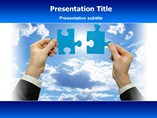 Interactive Puzzle  PowerPoint Template