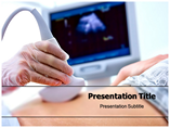 Pregnant Woman Examined Templates For Powerpoint