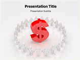 Rise of Dollar PowerPoint Template
