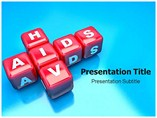 HIV Aids PowerPoint Template Templates For Powerpoint