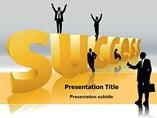 Congrats on Success PowerPoint Background