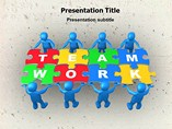 Importance of Teamwork PowerPoint Layouts