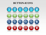 Button Icon Powerpoint Template