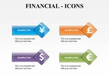 Financial Icon Powerpoint Template
