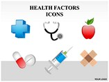 Health Factors Icon Powerpoint Template