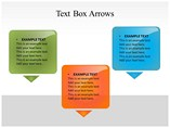 Text Box Arrows Powerpoint Template