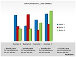 Data Driven Column Graphs Powerpoint Template