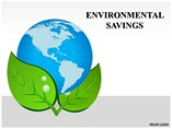 Environmental Savings Powerpoint Template