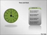 Time and Clock Animated Powerpoint Template