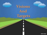 Vision and Targets Powerpoint Template