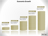 Economics Growth Chart Templates For Powerpoint