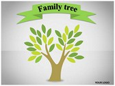 Family Tree Animated Powerpoint Template